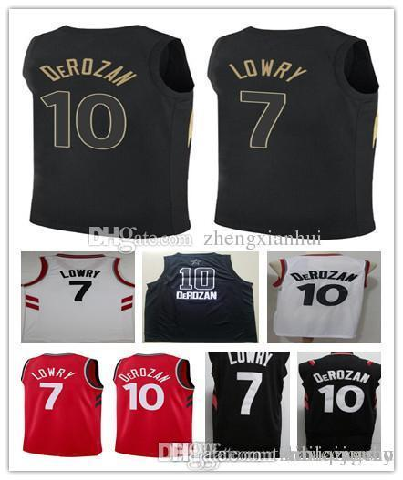hot sales 444be 01a63 free shipping kyle lowry black and gold jersey 0678c f8341