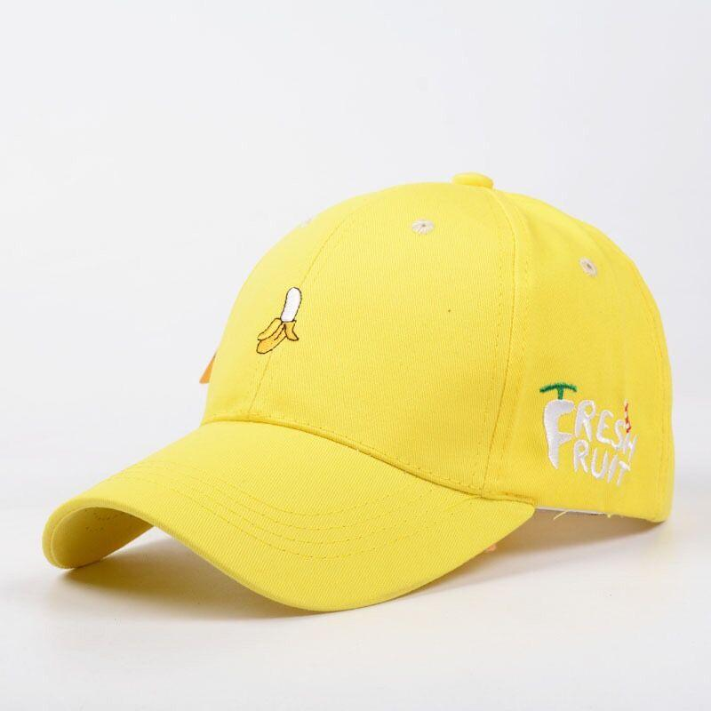 5b37141aa6a 2018 New Spring Fruit Fresh Cute Lovely Color Girls Youth Baseball Cap Hat  Summer Lovely Pink Orange Yellow Caps Best For Beach Caps Hats Fitted Cap  From ...