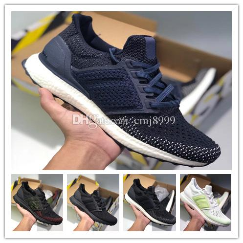 87cc01ef16c6 Ultraboost Clima 3.0 4.0 Running Shoes Core Triple Black White Ultra Boosts  Runner Men Women Casual Trainers Sports Sneakers Size 5 11 Buy Running  Shoes ...