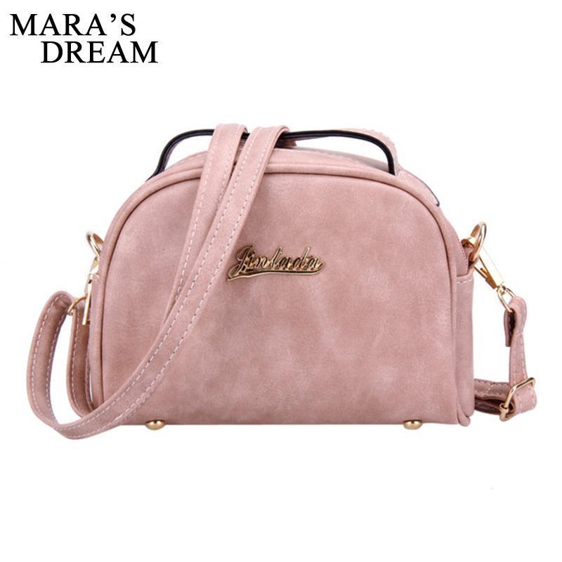 fe58689b2a8a 2019 Fashion Mara S Dream 2018 Women Messenger Bag PU Leather Solid Color  Zipper Small Flap Bag Shoulder Crossbody Bag Girls Clutches Purses Womens  Handbags ...