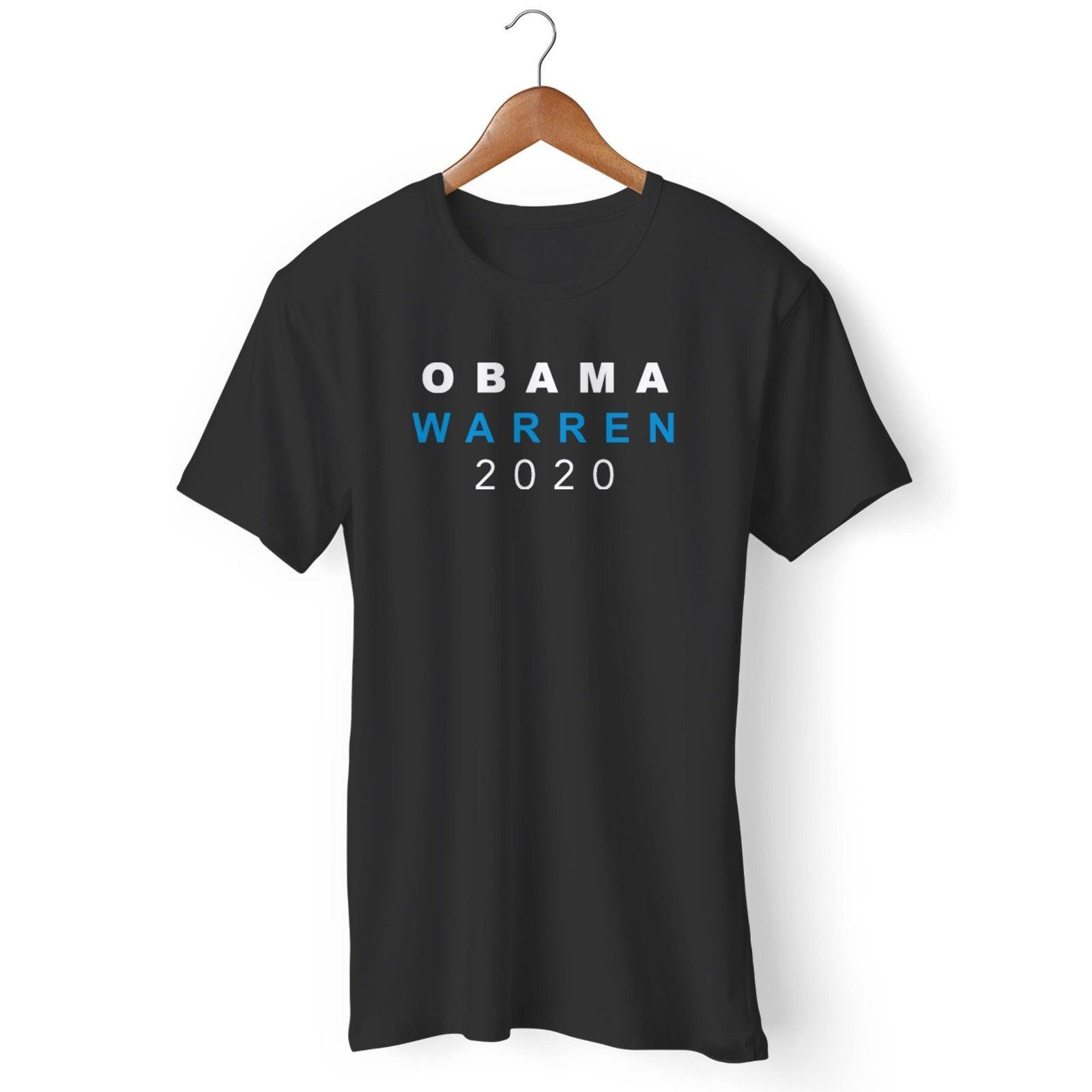 e729c22f Michelle Obama & Elizabeth Warren For President 2020 Man'S / Woman'S T Shirt  Funny Unisex Casual Tee Gift Top Awesome Shirts For Men The T Shirts From  ...