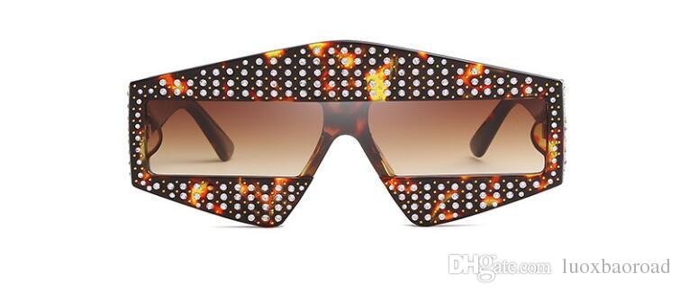 66354 Sunglasses Sparkling Diamond Designer Frame Bling Bling UV Protection Top Quality Fashion Summer Sunglasses For Women with box