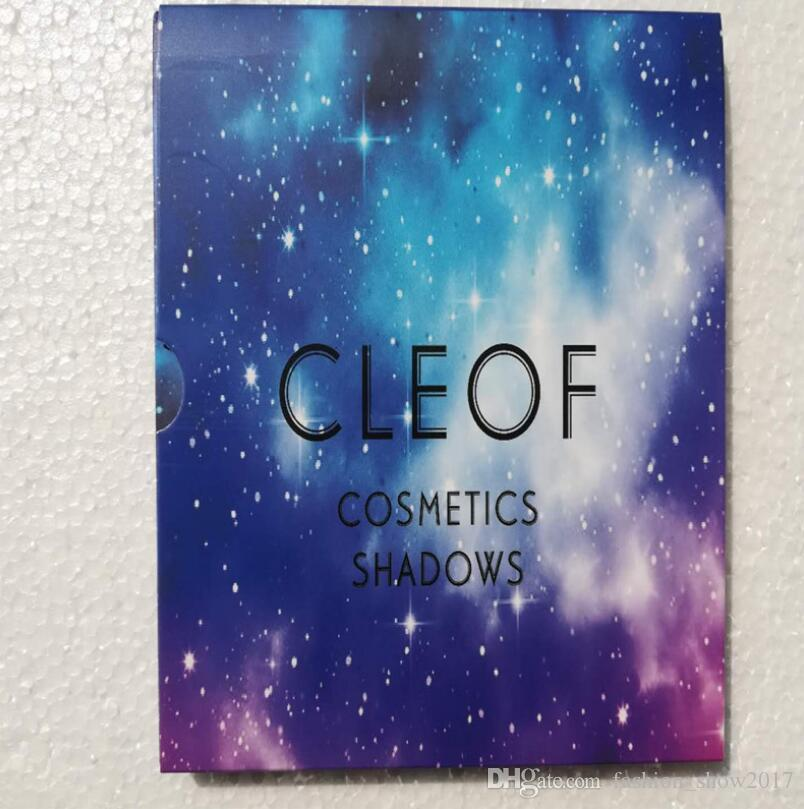 New Arrival Cleof Eyeshadow Palette Glitter Eye Shadow Pallette CLEOF Cosmetics Shadows