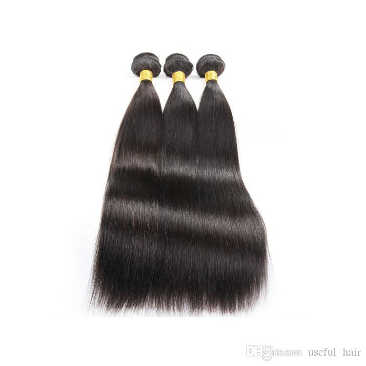 Water Wave Straight Human Hair Weave Body Wave Cuticle Aligned Hair