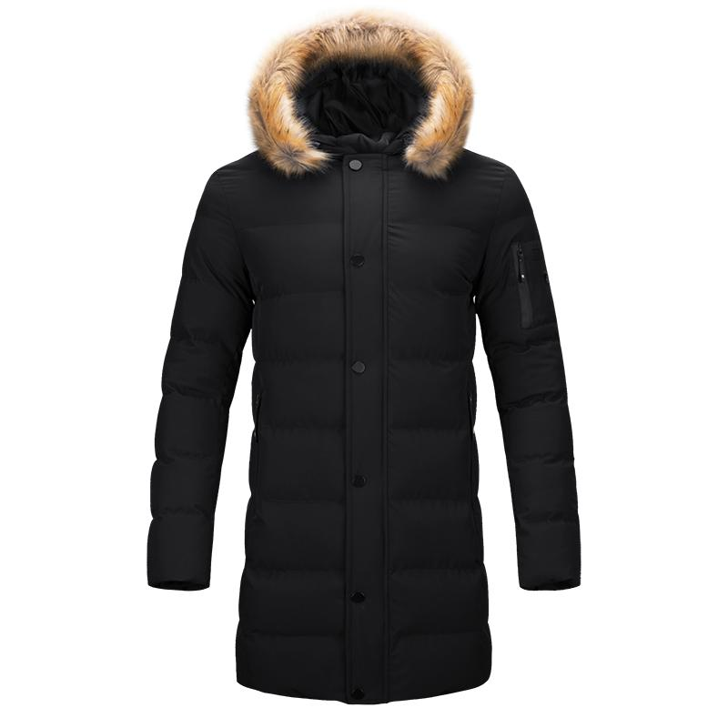327d720437b 2019 Winter Windproof Jacket Men Brand High Quality Male Long Jacket Coats  Men Fur Puffer Coat Quilted Warm Cotton Padded Parka Mens From Bairi