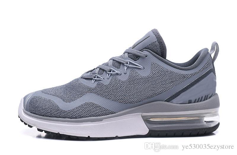 official photos 62007 86e27 Acheter Nike Air Max Fury Running Shoes Fury Chaussures De Course Pour  Hommes Sneakers Noir Blanc AA5739 400 Taille Légère Eur40 45 Entraîneur  Sports De ...