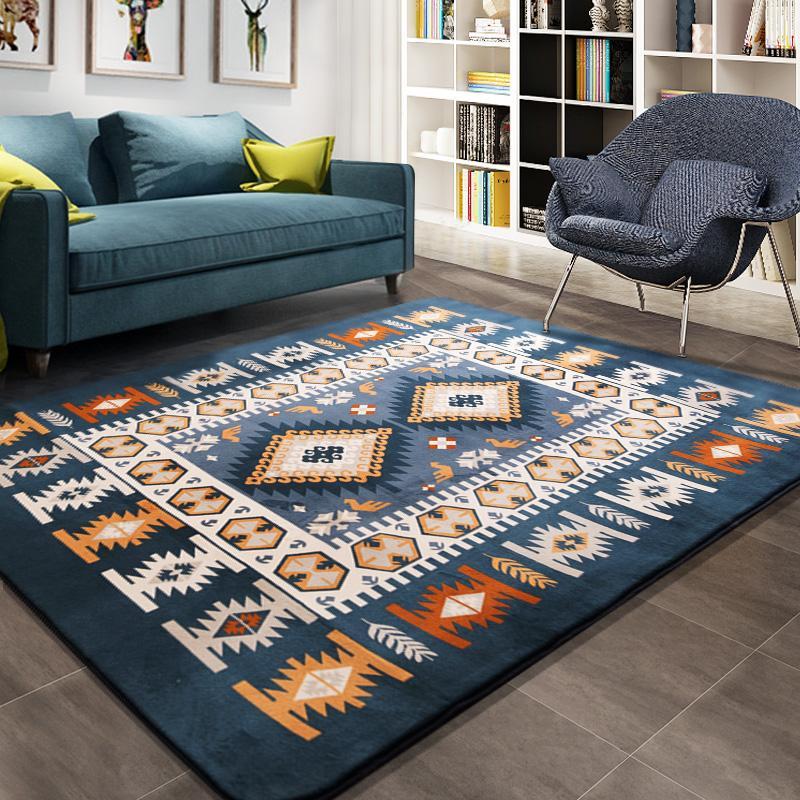 Großhandel Honlaker Mediterranean Teppich Große Wohnzimmer Teppiche ...
