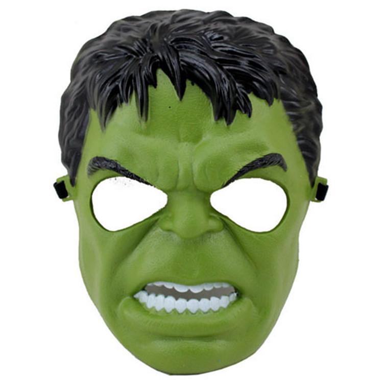 Рождество обычная версия супергерой маска для ребенка взрослых Мстители Marvel Черный Человек-паук ironman Капитан Америка Халк Бэтмен Маска