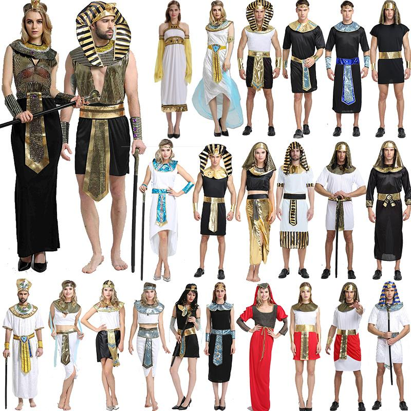 2019 Halloween Costumes Boy Girl Ancient Egypt Egyptian Pharaoh Cleopatra  Prince Princess Costume Children Kids Cosplay Party Clothing GGA1260 From  B2b life ... 5bc4de3e0
