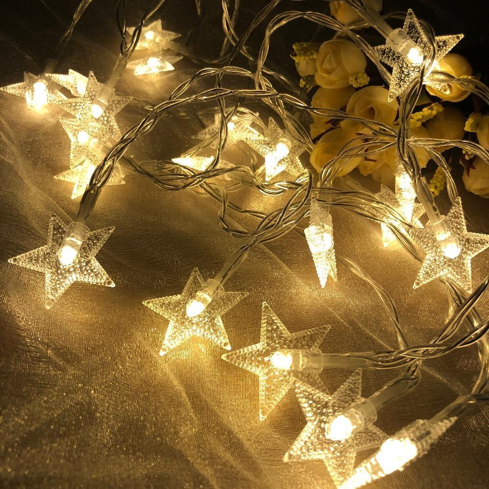 Grosshandel Sterne String Lichter Led Lichterketten Hochzeit