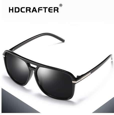 a817f9be50 HDCRAFTER Square Sunglasses Men Polarized Shield Mirrored Sun Glasses For  Male Uv400 Driving Man Sunglasses Eyewear Goggle Cheap Eyeglasses Sunglasses  Shop ...