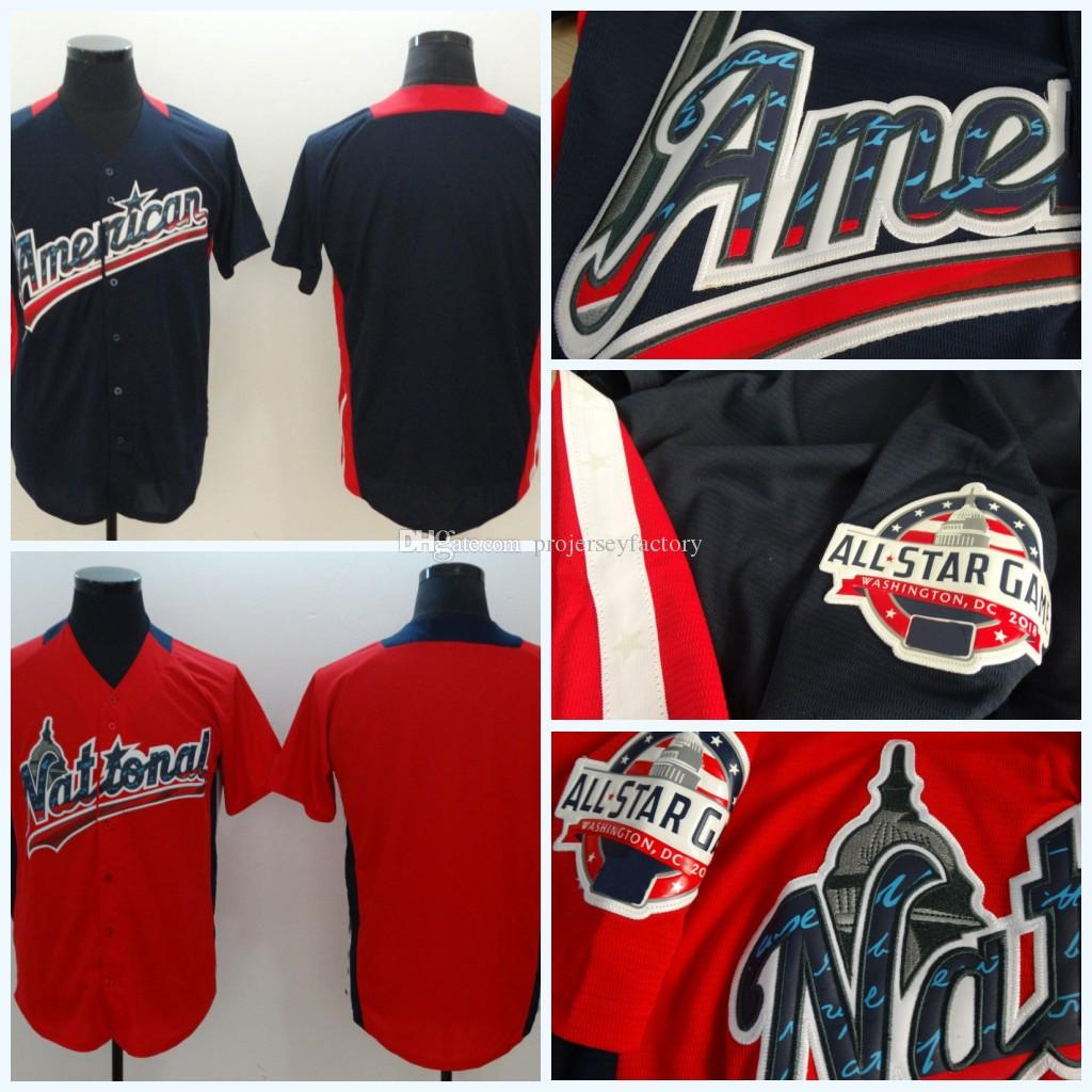 ... f8664 be5f4 2018 Mens American League Navy 2018 All Star Game Stitched National  League Home Team ... 3278bc41da0a