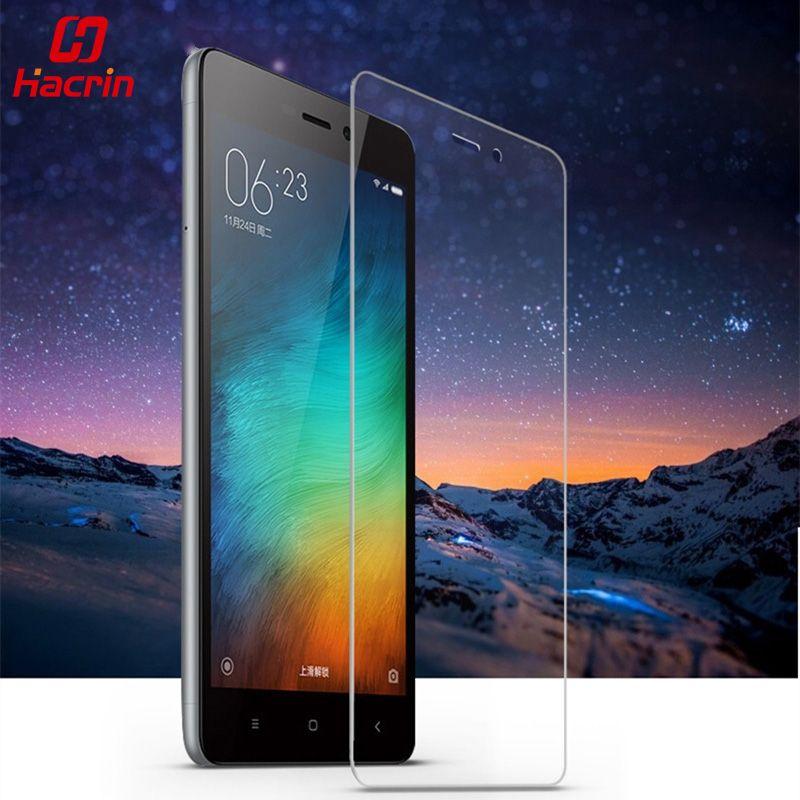 hacrin Xiaomi Redmi 3S Tempered Glass 5 0inch 9H 2 5D Screen Protector Film  For Redmi3 S hongmi 3S Pro Prime Redmi 3