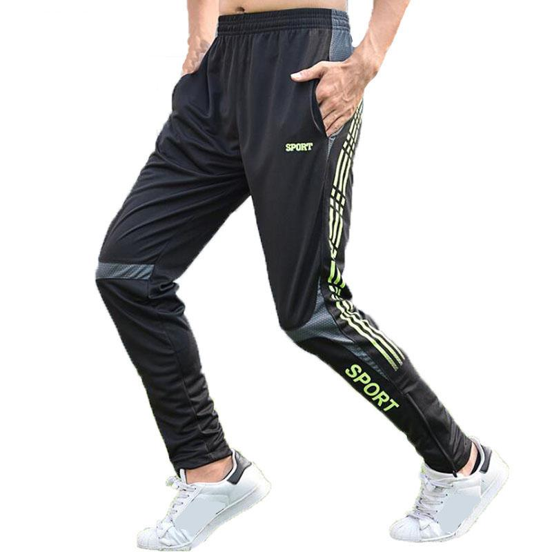 357ff2b5e2 Outdoor Sports Running Pants Men Quick Drying Training Basketball Fitness  Long Leggings Tracksuit Bottoms Football Sweatpants Training Leggings  Sweatpants ...