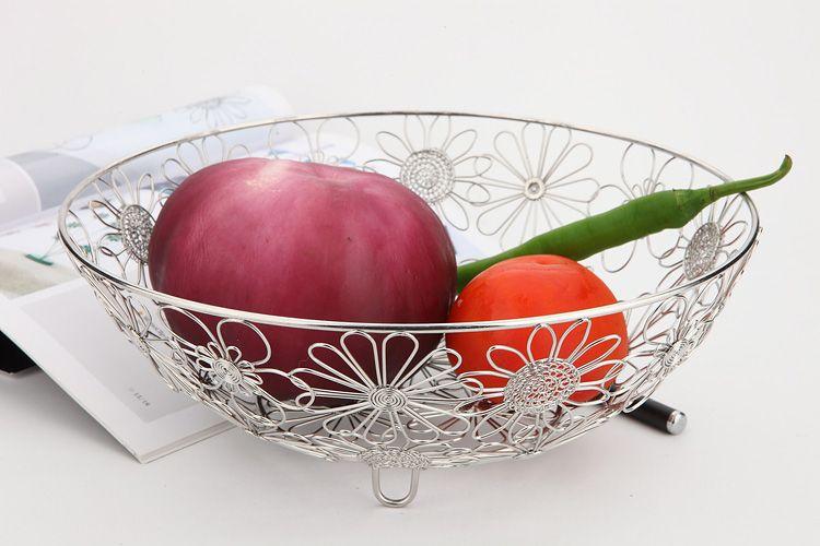 2018 h1 fruit bowl basket kitchen room holder hand made art crafts