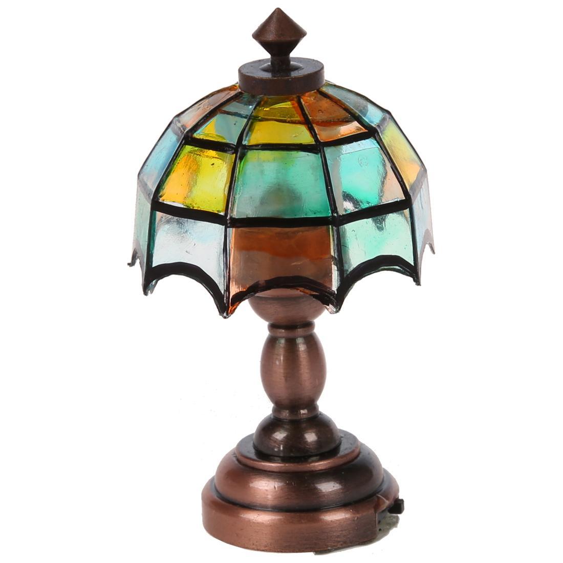 Pour Maison Jouet Nouvelle Lampe Poupée De Miniature 1 12 MVLSzpqUG
