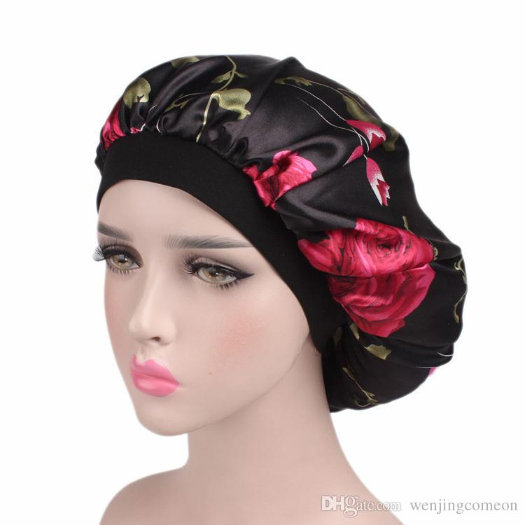 46bea4e4b1f 2019 Women S Winter Hats Night Cap New Wide Band Hair Loss Chemo Winter Hats  Comfortable Satin Bonnet Ladies Turban Caps From Wenjingcomeon