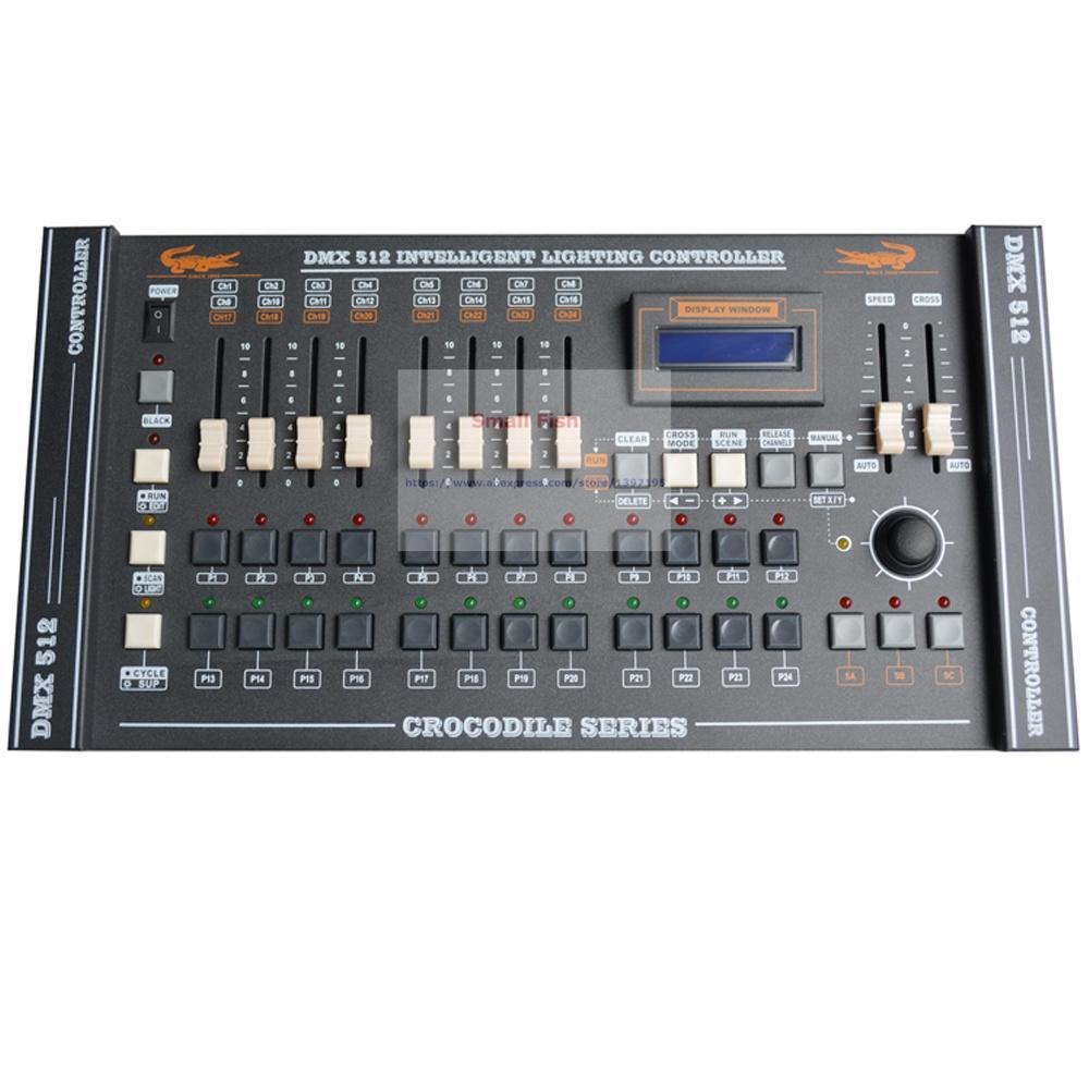 Estándar internacional CROCODILE 1216 Controlador DMX Control Cabeza móvil Led Par Luces Consolas DJ 512 Dmx Controlador Equipo