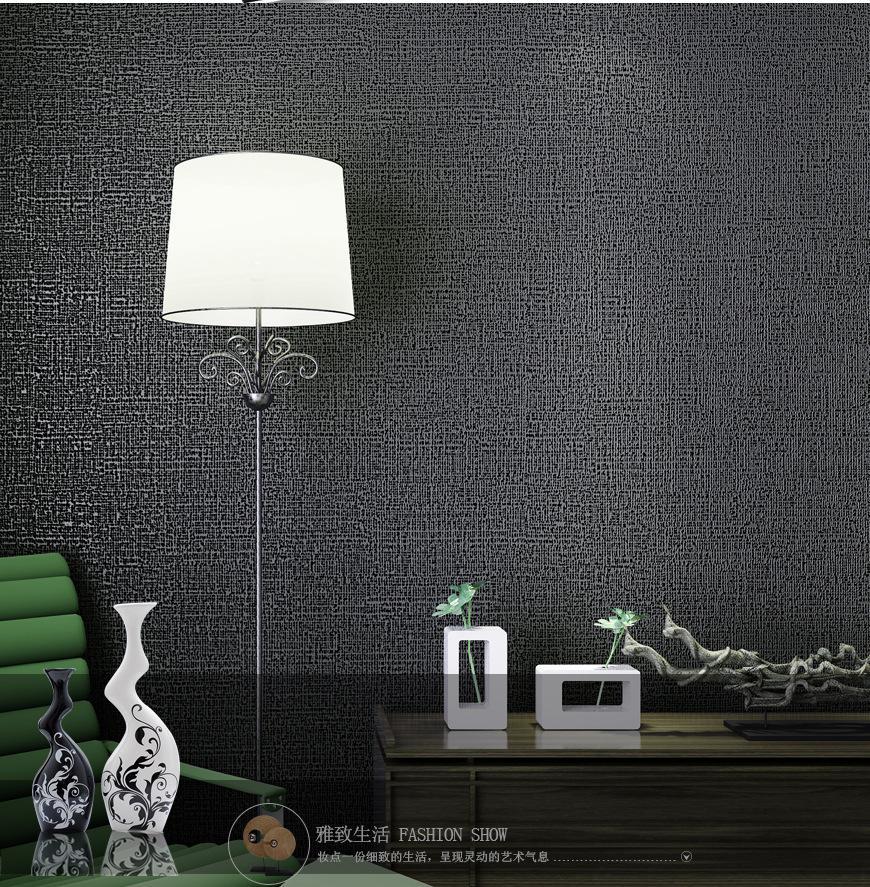 Großhandel Moderne Einfache Plain Solid Tapete Wohnzimmer ...