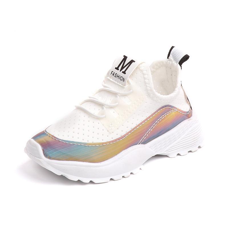7b3803c66a1f9 Acheter KINE PANDA Toddler Fille Bébé Garçon Sport Chaussures De Course  Enfants Casual Sneakers 0 30 M Enfant Formateurs Respirant Anti Slide Noir  De  26.66 ...