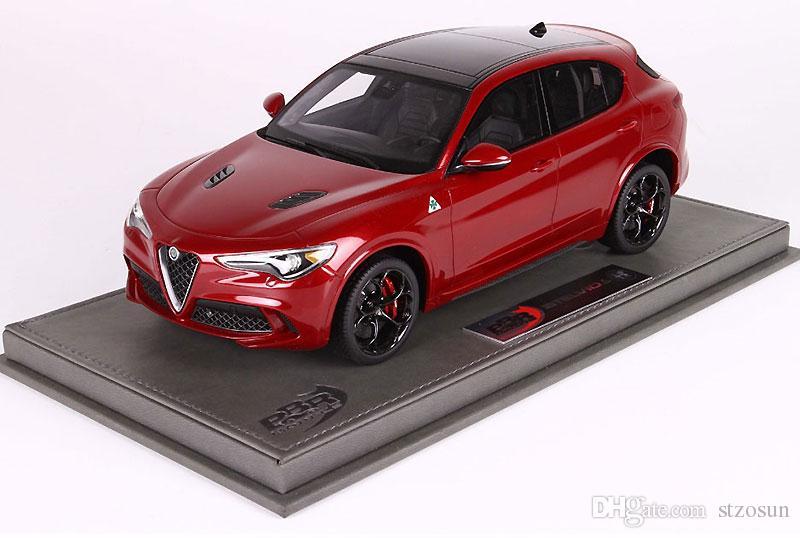 2019 1 18 Alfa Romeo Stelvio Alfa Romeo Off Road Suv Resin Car Model