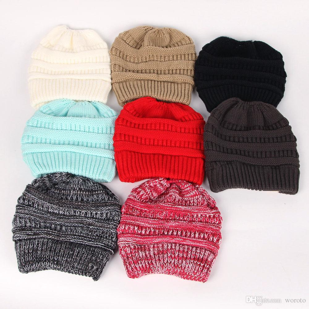 Discount Christmas Gifts Hat Women Warm Thick Trendy Warm Winter ...