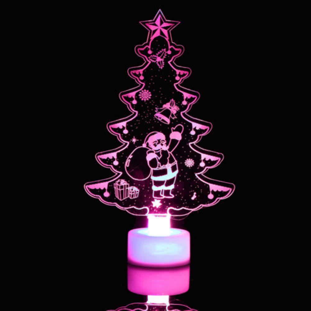 Creative colorful christmas tree led night light color changing led creative colorful christmas tree led night light color changing led light lamp decorative wall lamp home decor new discount christmas decorations discount aloadofball Images