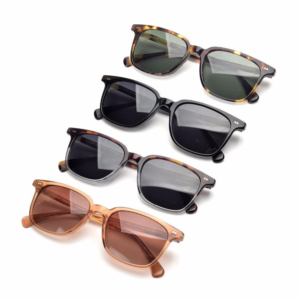 332e8193750 Upgrate Vision Vintage Square Sunglasses Oliver Ov5316 SUN Acetate ...