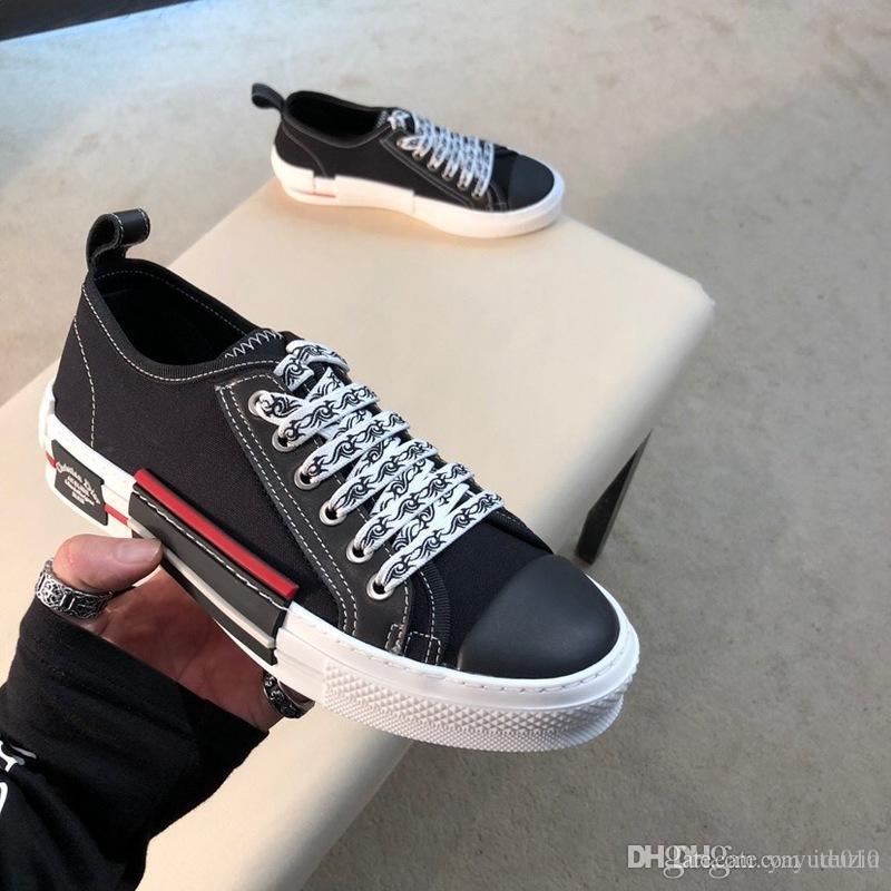 95989c05 Nuevo diseñador para hombre Moda para mujer Lujo Blanco Cuero Negro Volver  Plataforma zapatos planos casuales zapatos de dama negro rosa oro mujeres  ...