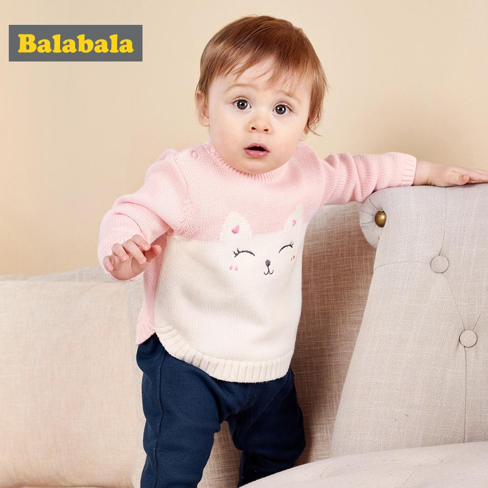 e2d5b05bfc4a Balabala Baby Boy Clothes Baby Sweater Autumn Winter New Infant ...