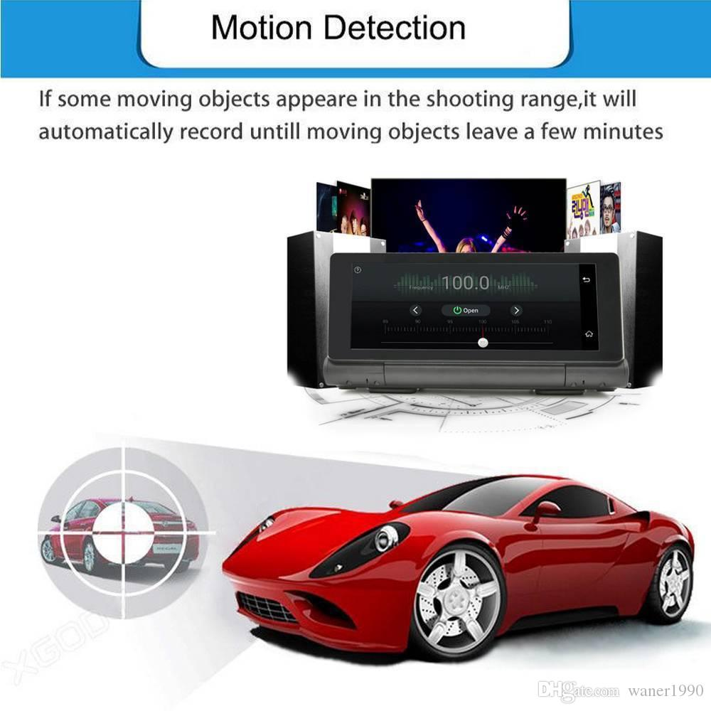 Smart Android 5.1 HD 1080P GPS 4G WiFi Car DVR Camera Touchscreen Dash Video Recorder Night Vision G Sensor Dual Rear View Camera