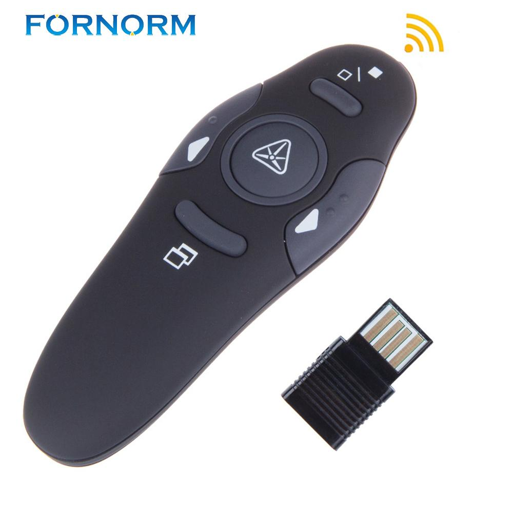 63d7287b2ca 2.4GHz Wireless Presenter With Red Laser Pointers Pen USB RF Remote Control  Page Turning PPT Powerpoint Presentation Universal Remote Controller  Wiimote ...