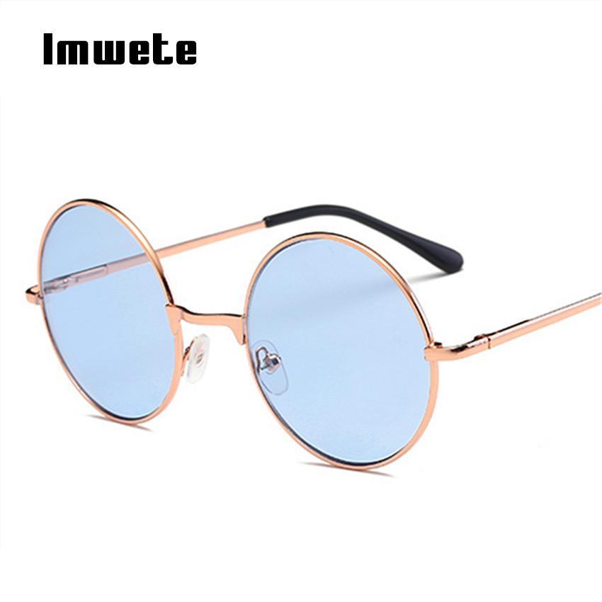 24ff539c15 Compre Imwete Steampunk Gafas De Sol Retro Prince Gafas De Sol John Lennon  Hombres Mujeres Marca Diseñador Gafas Redondas Gafas Uv400 A $20.29 Del  Ancient88 ...