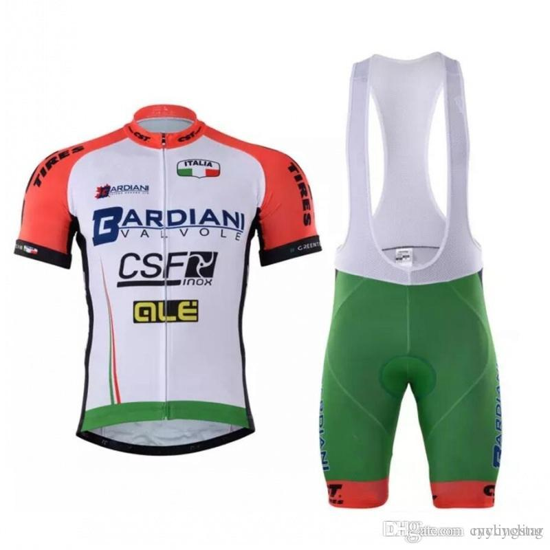 2018 New Pro Team BARDIANI CSF Cycling Jersey Summer MTB Bicycle ... de768bcb4