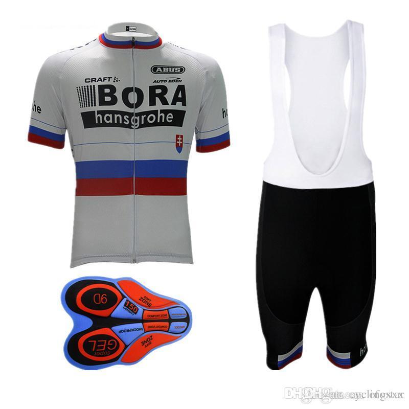 0ffd90e8b 2017 Bora Cycling Jersey Set Summer Ropa Ciclismo Hombre Bike ...
