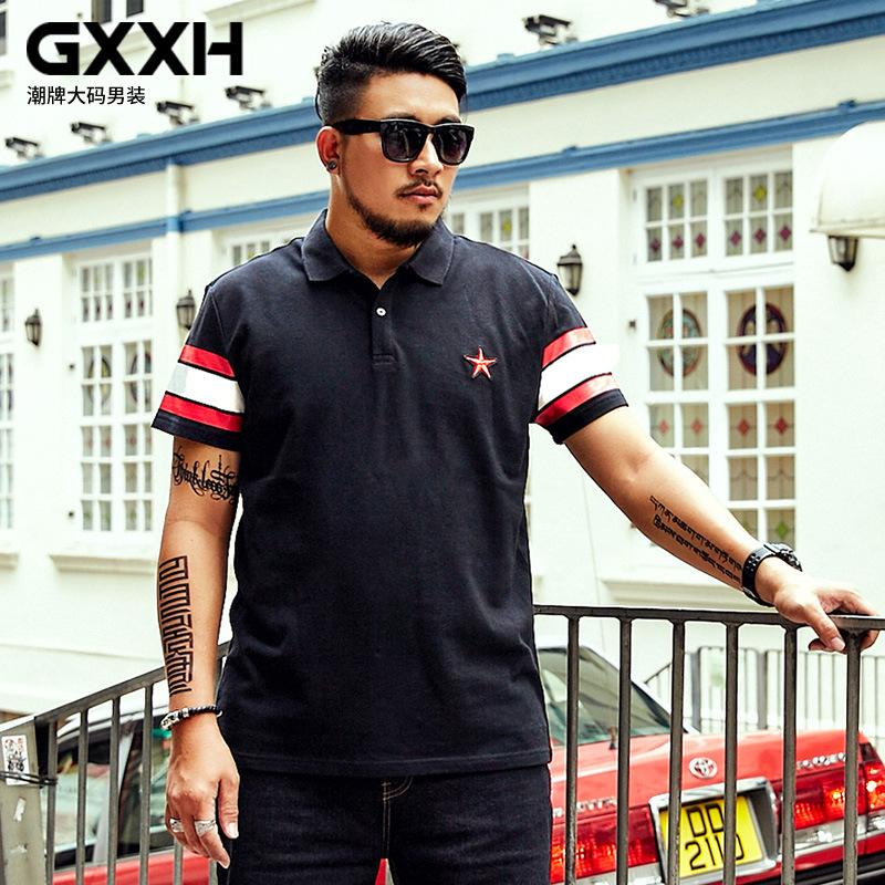 1e5ecb9f3ea GXXH Summer Short-sleeved Shirt Loose Printed Fat Guy Plus size 6XL 7XL Shirt  Men s Casual Half Sleeve Oversize Male
