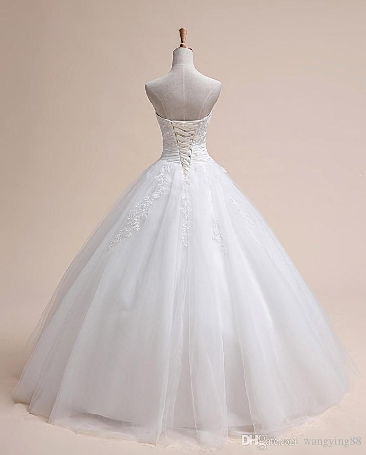 Fashion luxury beading wedding dress 2017 vestido de noiva lace married plus size bride china wedding dresses ball gown casamento