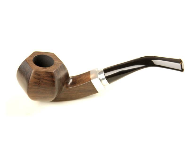Ebony rosewood bending type pipe smoking man 9mm filter cartridge pipe
