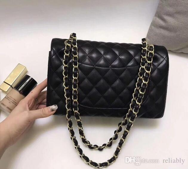 c485418683d4d New Luxury Brand Classical Lady Bags with Gold Chain Shoulder Bag ...