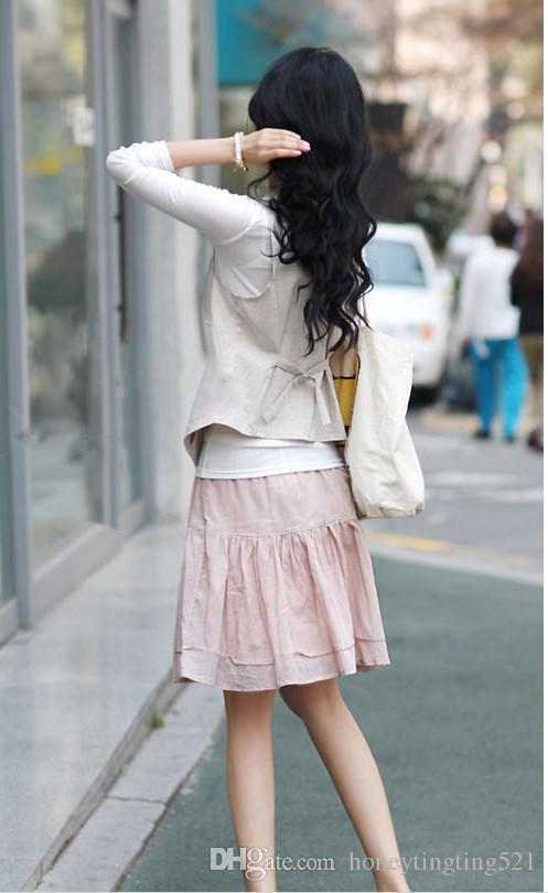 Nova moda feminina trabalho escritório OL casual com decote em v cintura fina curto blazer colete sem mangas terno casaco plus size MLXLXXL3XL4XL Preto Cáqui
