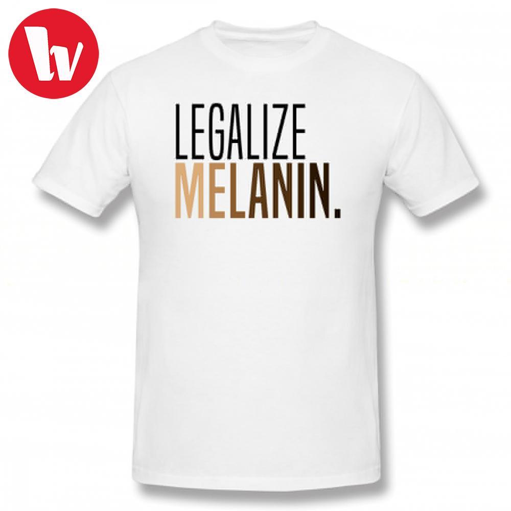 c539475aef709c Melanin Tee Shirt Legalize Melanin T Shirt Men Letter Print Funny T Shirt  Awesome Oversized Tee Shirts Short Sleeve T Shirts One Tee A Day Random  Graphic ...