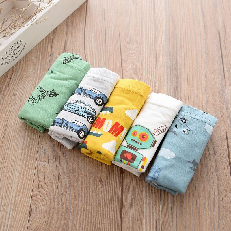 2017 New Cotton 2-12years Baby Boys Panties Cartoon Kids Underwear Pants Children's Briefs Boys Cute boxer shorts