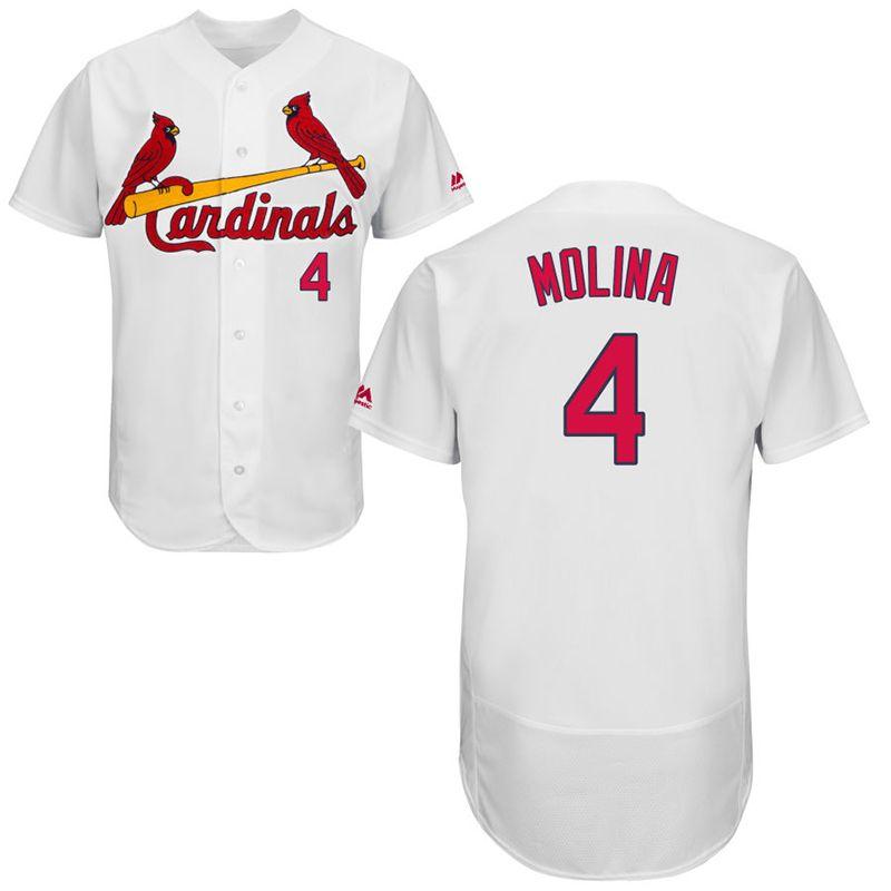 2019 Mens Custom St. Louis Cardinals Yadier Molina Matt Carpenter Ozzie  Smith Stan Musial Harrison Bader Carlos Martinez 2018 Baseball Jersey From  Fsclz cf744291b