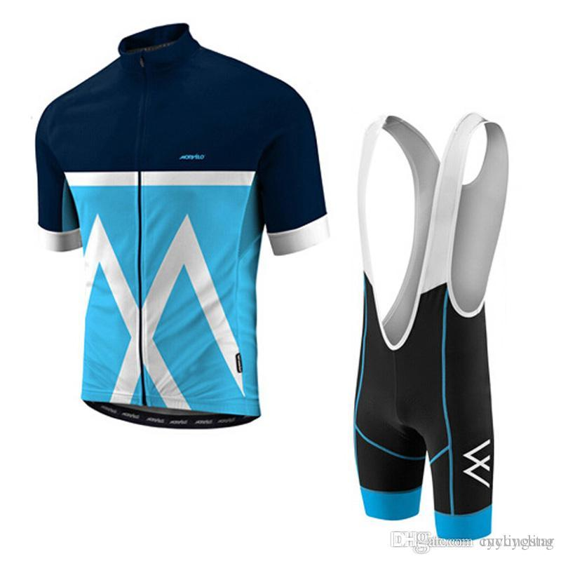 MORVELO Summer Cycling Jersey Ropa Ciclismo Breathable Bike Clothing ... cc54d2b76