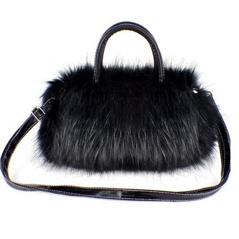 e4bbc0e938d8c Hot Luxury Women Handbag Faux Rabbit Fur Designer Female Small Messenger  Bags Winter Women Ladies Crossbody Tote Bags Shoulder Bags Laptop Bags For  Women ...