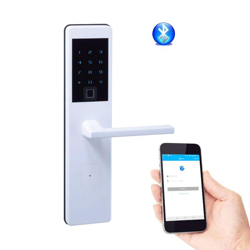 Fingerprint Keyless Front Door Lock Biometric Electronic App Remote