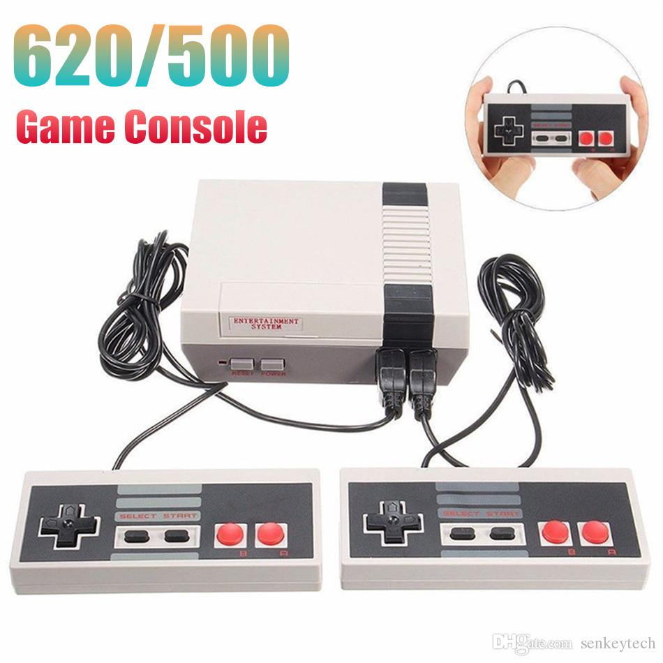 Mini Handheld Game Console Can Store 620 500 Games 8 Bit Dual Controllers  Game Consolers For FC NES Retro Video Game Player