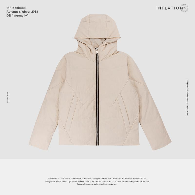 99c3ef0a379 2019 INFLATION High Quality Down Jacket Winter Warm Hooded Coat Male  Outwear Casual Brand Clothese Men Thick Winter Coat 8676WN From Duanhu, ...