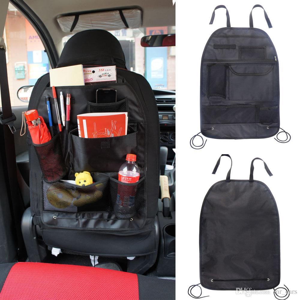 Car Back Seat Tidy Organiser Multi Pocket Holder Pouch Storage Bag