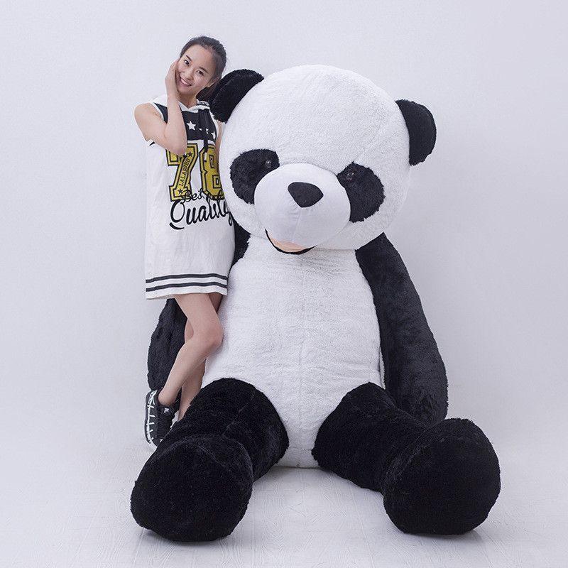 2019 300cm Giant Smile Panda America Big Panda Bear Stuffed Plush
